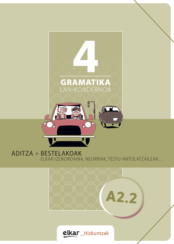 Gramatika lan-koadernoa 4